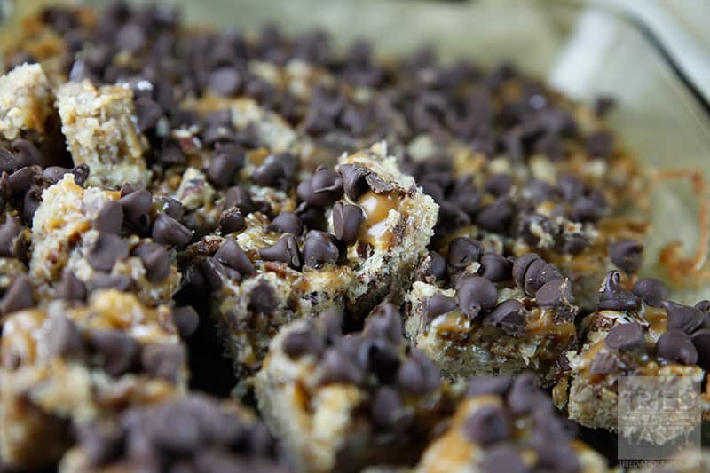 Chocolate Caramel Bars // Tried and Tasty
