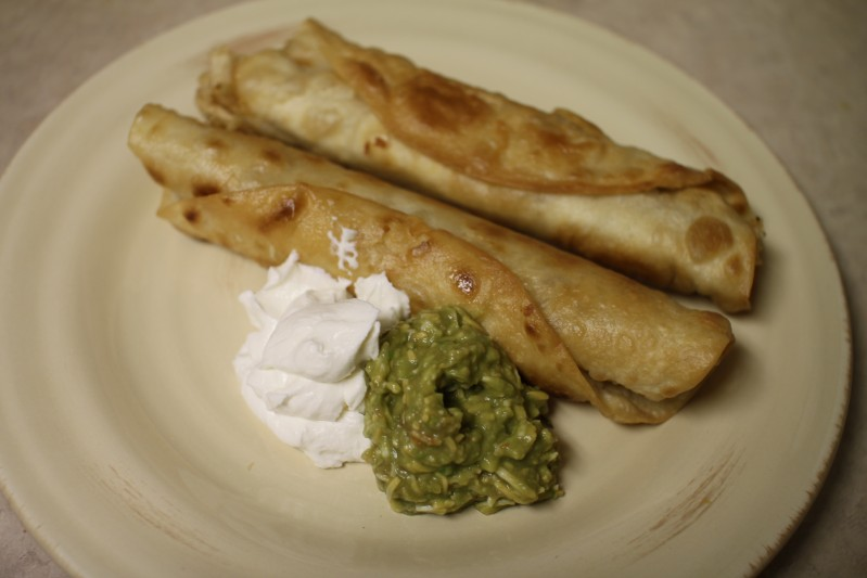 Chicken Flautas - Tried and Tasty