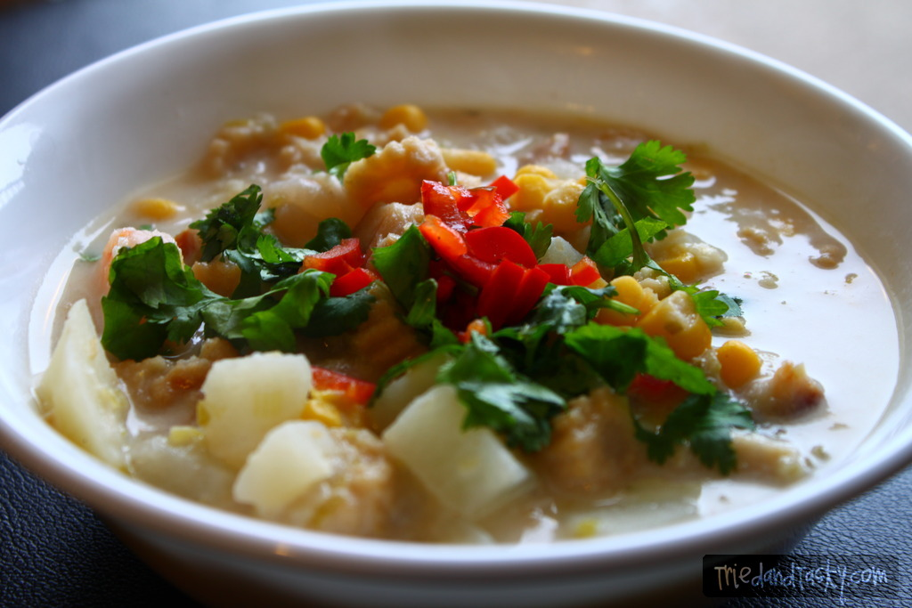Chowder with Asian Flavors - Tried and Tasty