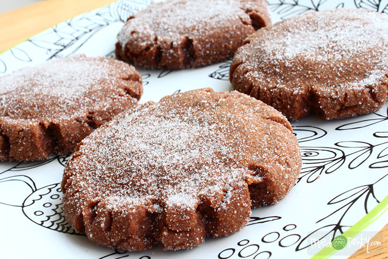 Chocolate Peanut Butter Surprise Cookies - Tried and Tasty
