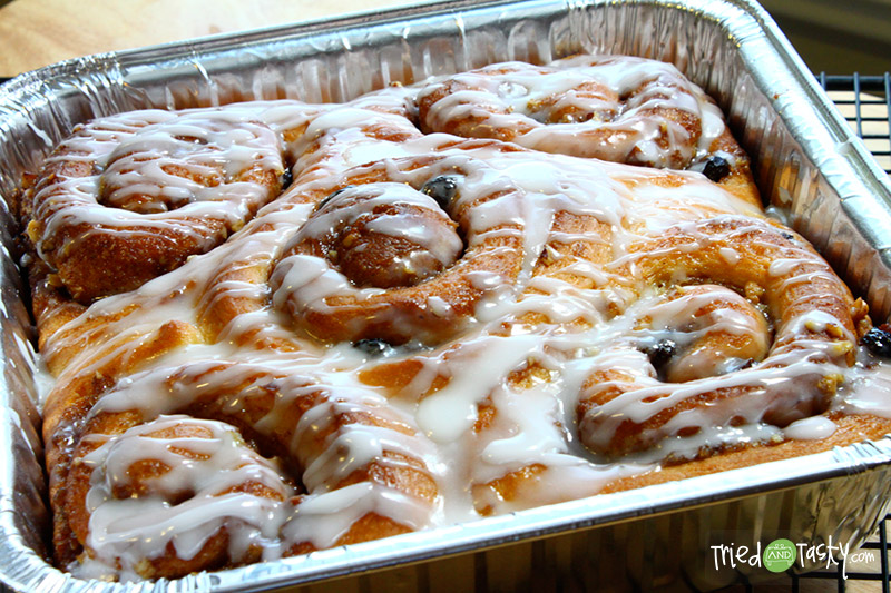 Cream Cheese Cinnamon Rolls - Tried and Tasty