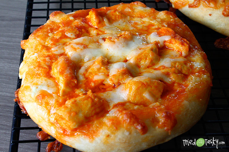 Buffalo Chicken Pizza - Tried and Tasty
