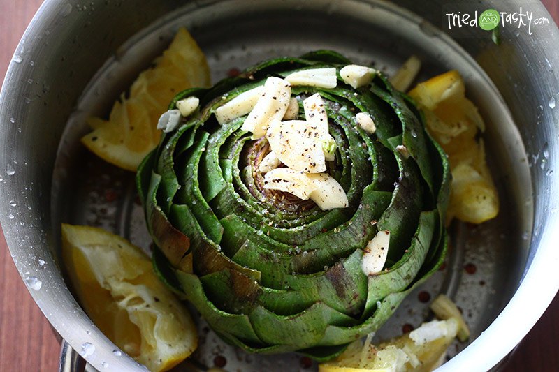 ... ever eaten an artichoke not artichoke dip but an actual artichoke