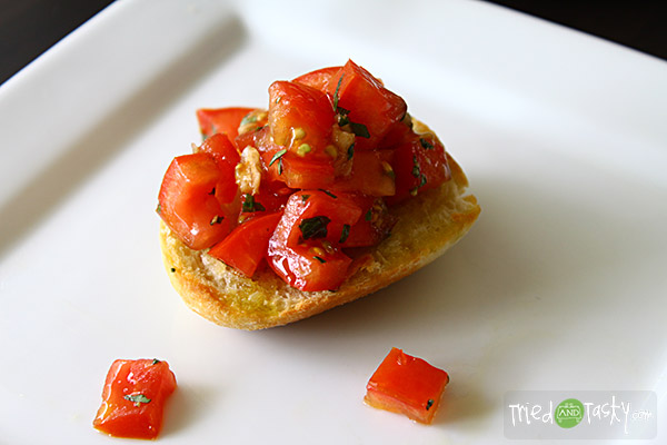 Crusty Bruschetta