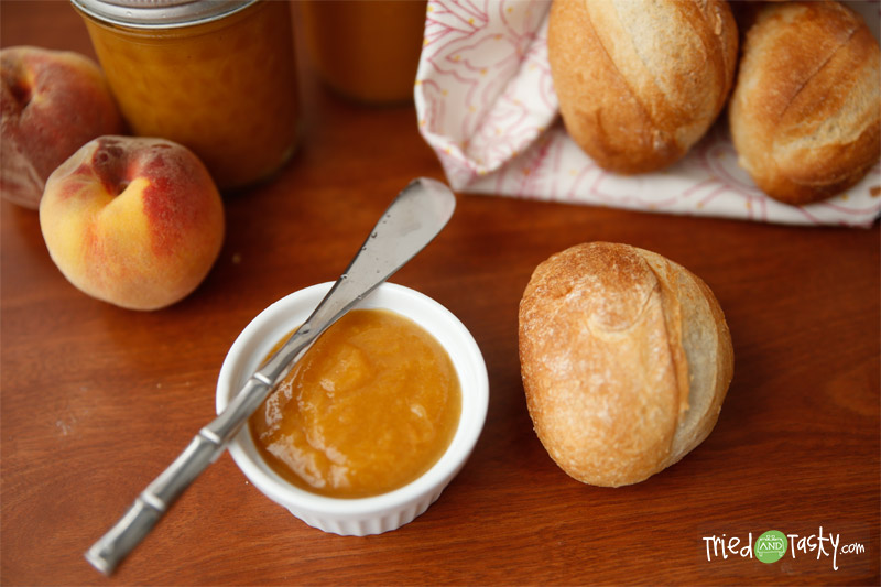Peach Butter - Tried and Tasty