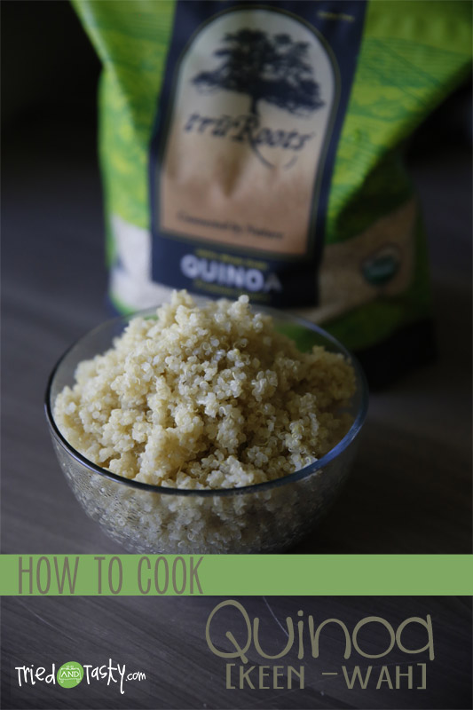 How To Cook Quinoa // TriedandTasty