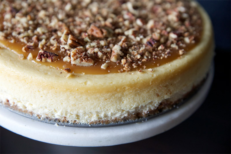 ... and let me know if you pecan cheesecake pie the pecan pie cheesecake