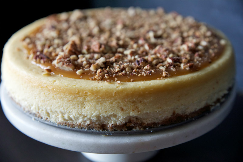 Pecan Pie Cheesecake - Tried and Tasty