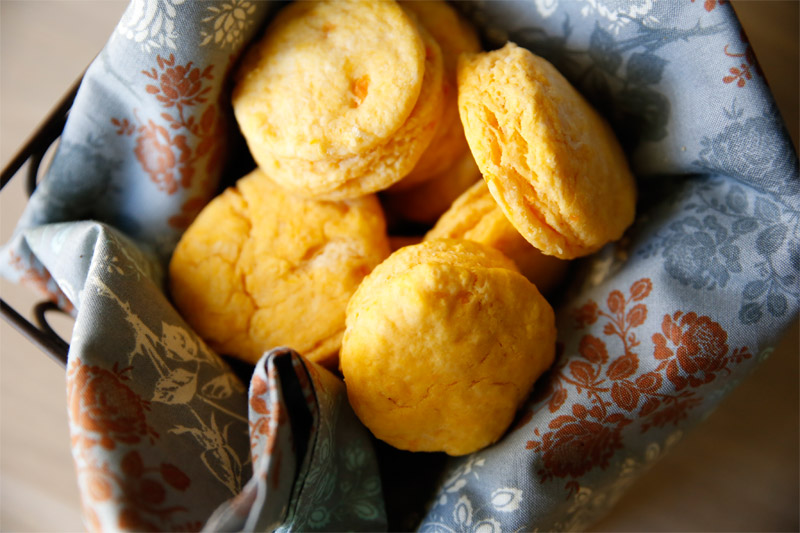Paula Deen's Fluffy Sweet-Potato Biscuits - Tried and Tasty