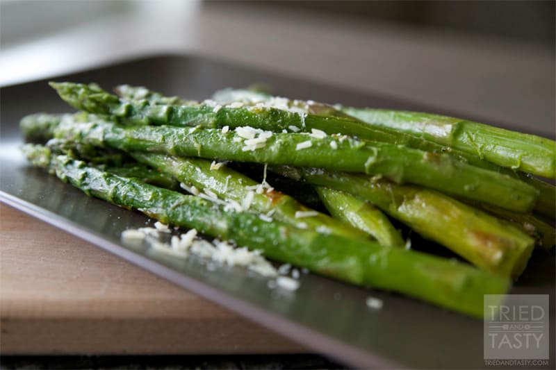 Quick & Easy Asparagus // Tried and Tasty