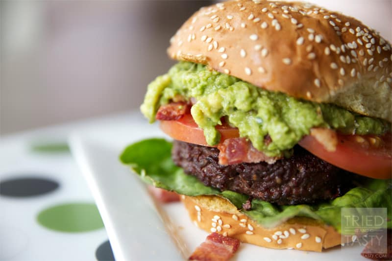 Guacamole Bacon Burger // Tried and Tasty