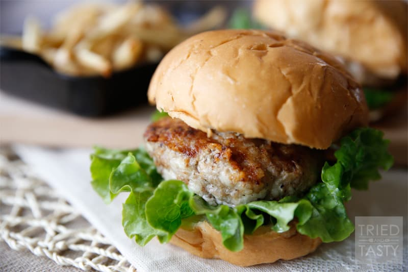 how to make turkey burgers taste better