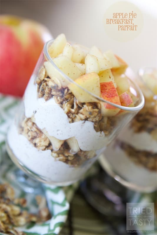 Apple Pie Parfait // Tried and Tasty
