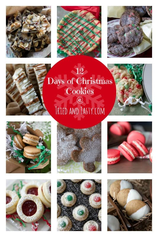 Tried and Tasty 12 Days of Christmas