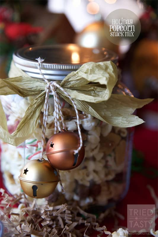 Holiday Popcorn Snack Mix // Tried and Tasty