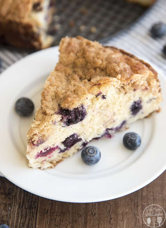 Blueberry Coffee Cake / Like Mother Like Daughter