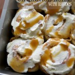 Caramel Apple Cinnamon Rolls // Tried and Tasty