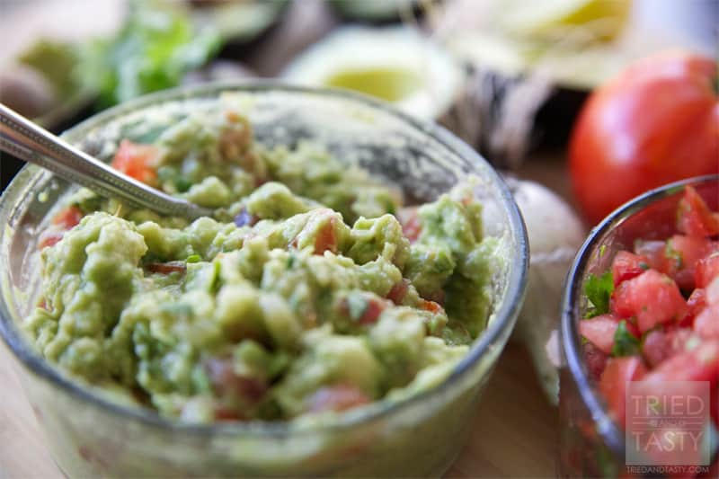 Copycat Cafe Rio Guacamole // Tried and Tasty