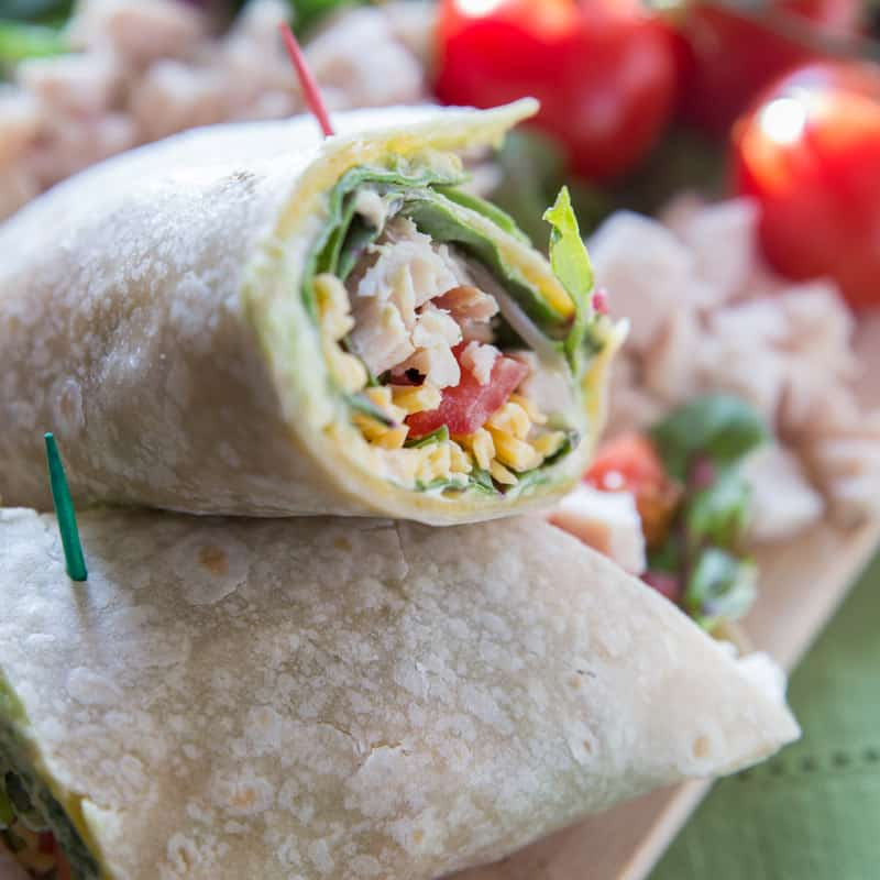 southwestern chipotle chicken wrap tried and tasty