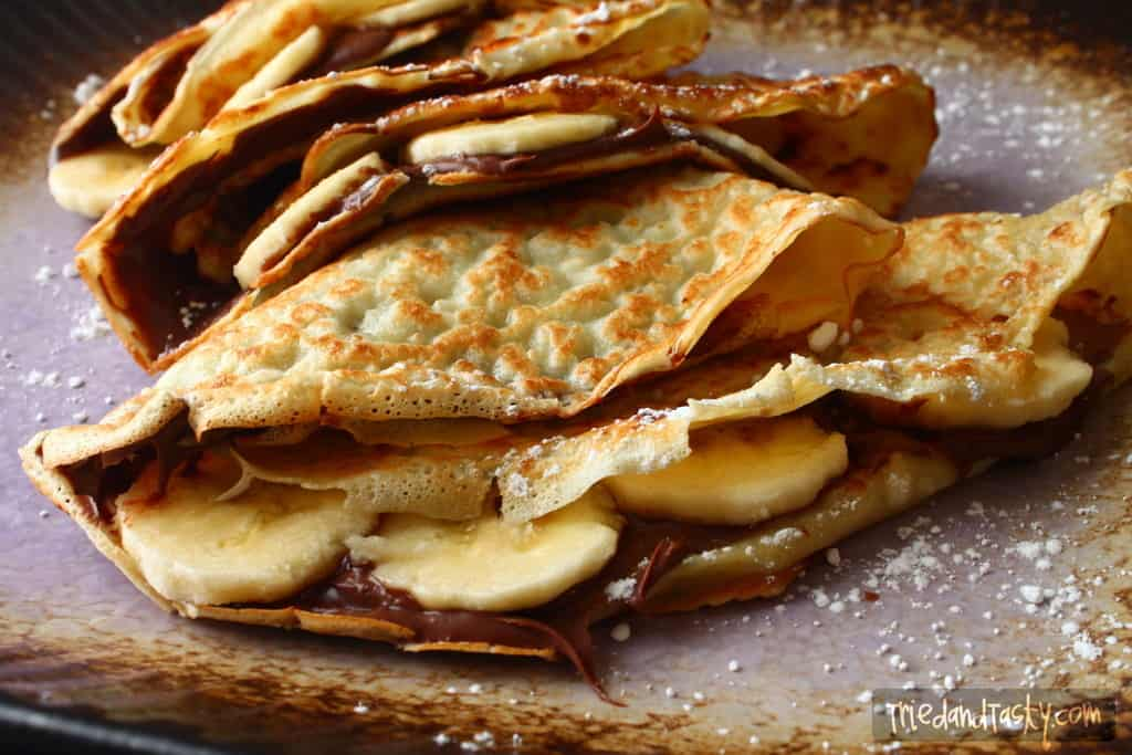 Banana-Nutella Crepe - Tried and Tasty