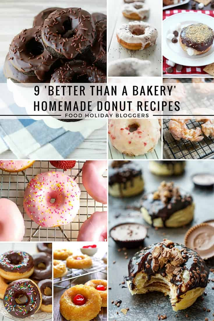 9 Better Than A Bakery Homemade Donut Recipes