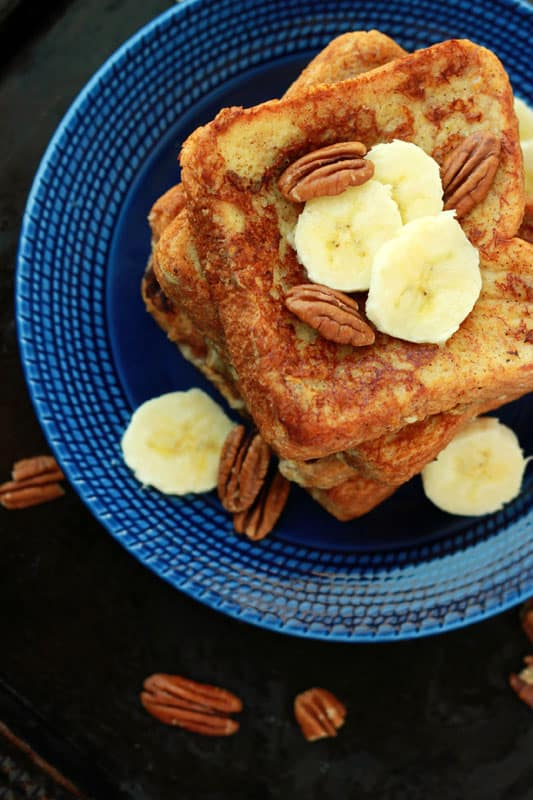 Banana French Toast // One Sweet Appetite