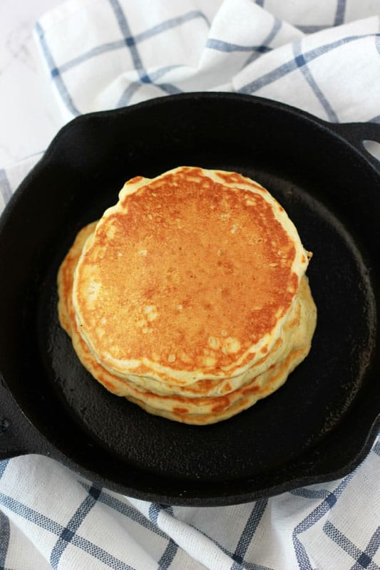 Buttermilk Pancakes // One Sweet Appetite