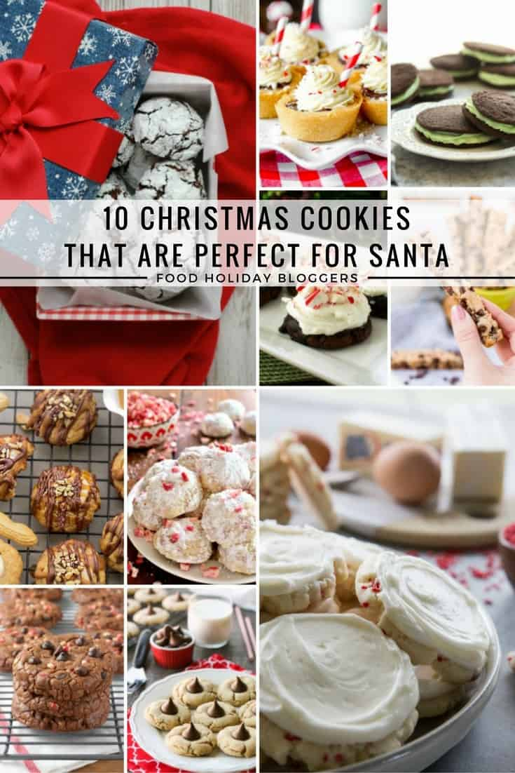 10 Cookie Recipes That Are Perfect for Santa