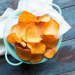 The Perfect Sweet Potato Chips // Want to know how to achieve the perfect homemade sweet potato chip? I'll show you how & trust me - they are amazing as they look! | Tried and Tasty